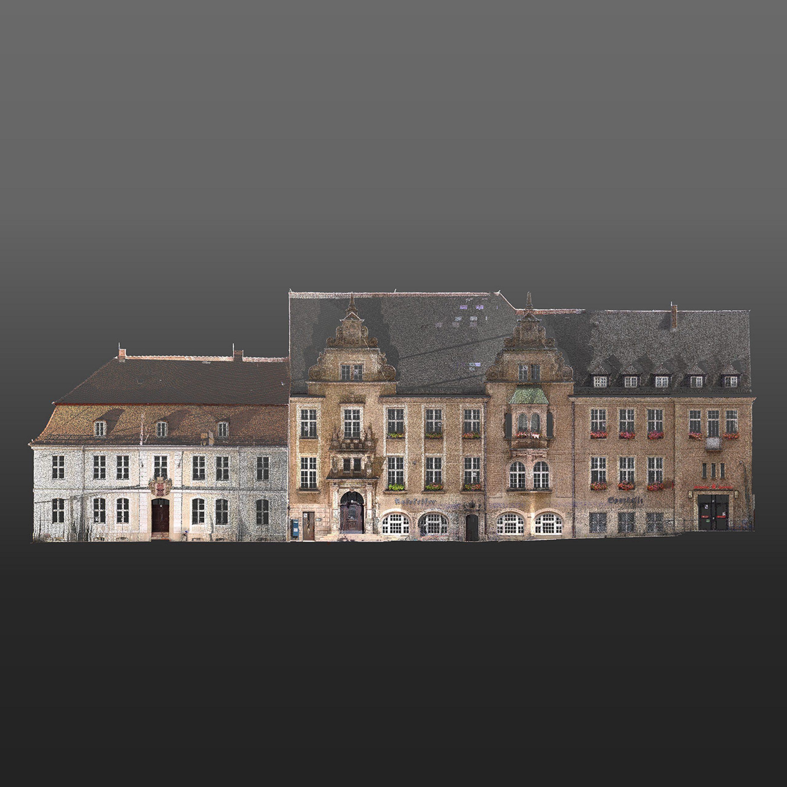 3D-Laserscanning Eberswalde